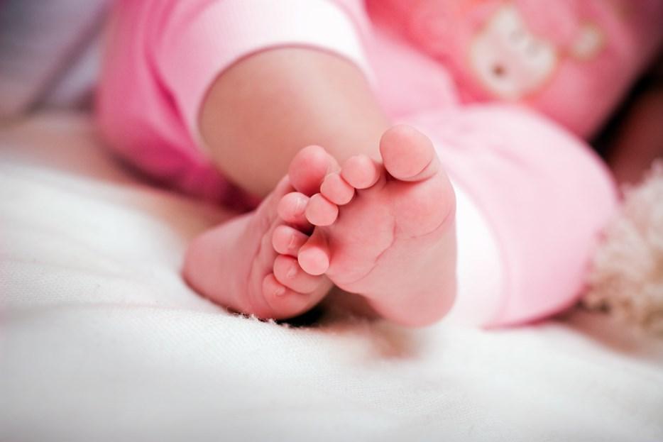 Geboorte - babyvoetjes