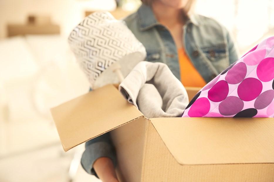 Verhuizen - doos spullen